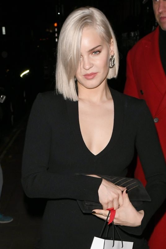 ANNE MARIE at Chanel Party at Annabel's in London 11/13/2018