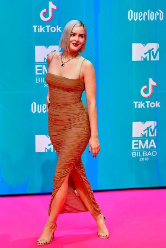 ANNE MARIE at MTV European Music Awards 2018 in Bilbao 11/04/2018