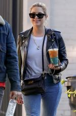 ASHLEY BENSON Out for Coffee in West Hollywood 11/05/2018