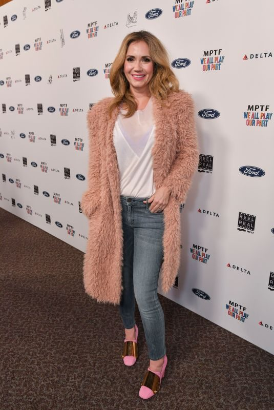 ASHLEY JONES at Reel Stories, Real Lives in Los Angeles 11/08/2018