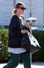 ASHLEY OLSEN Out for Coffee in Los Angeles 11/03/2018