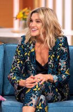 ASHLEY ROBERTS at This Morning Show in London 11/21/2018