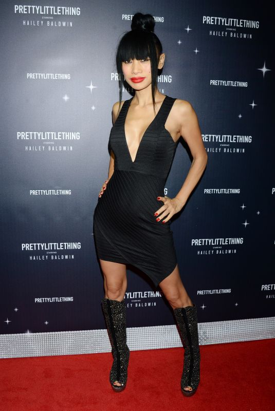 BAI LING at Prettylittlething Starring Hailey Baldwin Event in Los Angeles 11/05/2018