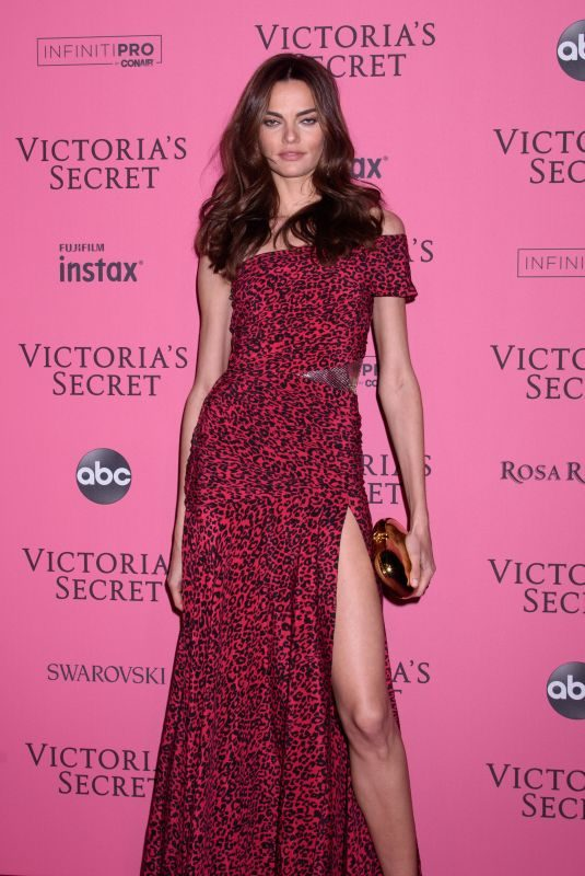 BARBARA FIALHO at VS Fashion Show Afterparty in New York 11/07/2018