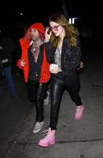 BELLA THORNE at Delilah in West Hollywood 11/15/2018