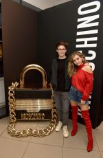 BREC BASSINGER at Moschino x H&M Launch Party in Los Angeles 11/07/2018
