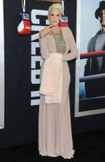 BRIGITTE NIELSEN at Creed 2 Premiere in New York 11/14/2018