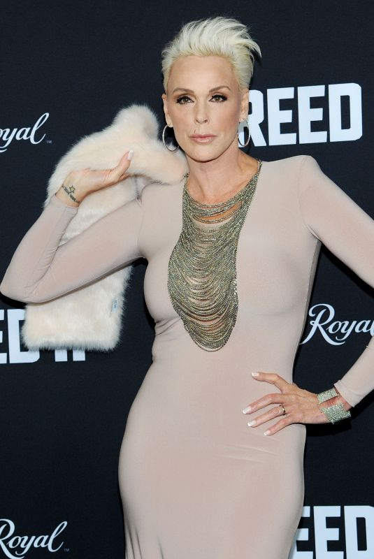 BRIGITTE NIELSEN at Creed 2 Premiere in New York 11/14/2018