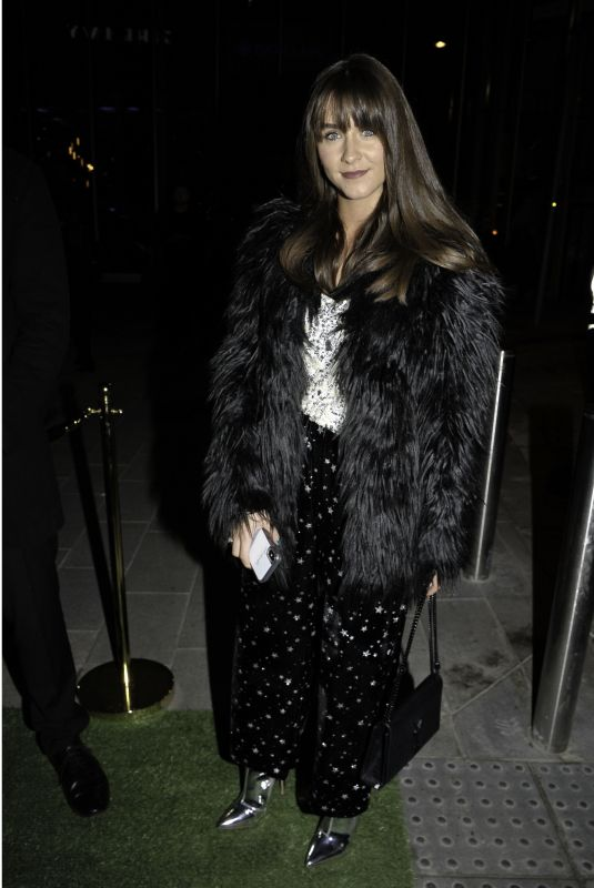 BROOKE VINCENT at Ivy Spinningfield\s VIP Launch Party in Manchester 11/23/2018