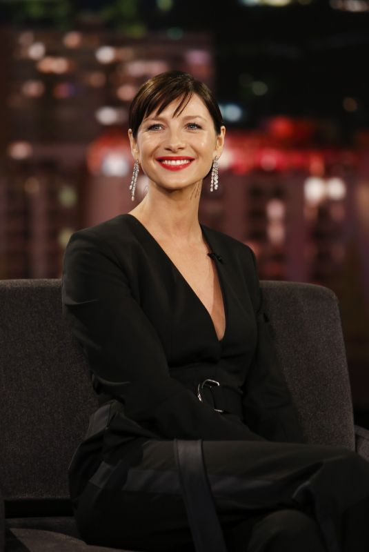 CAITRIONA BALFE at Jimmy Kimmel Live 10/30/2018