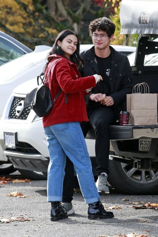 CAMILA MENDES Out in Vancouver 10/30/2018