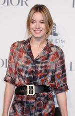 CAMILLE ROWE at Guggenheim International Gala Pre-party in New York 11/14/2018