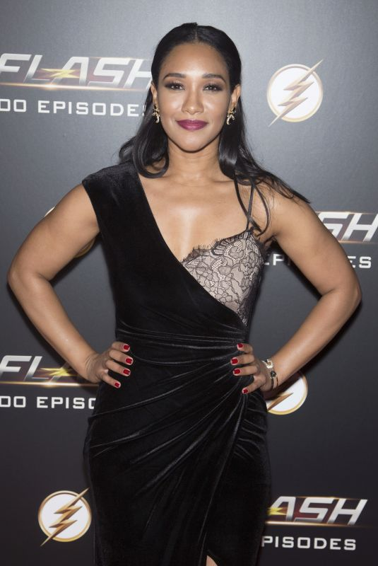 CANDICE PATTON at The Flash 100th Episode Celebration in Los Angeles 11/19/2018