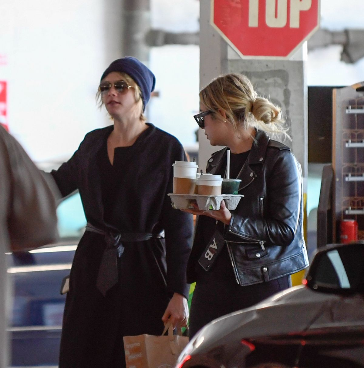 Cara Delevingne And Ashley Benson At Erewhon In Los Angeles 11 04