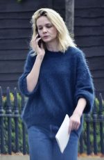 CAREY MULLIGAN Out and About in London 11/15/2018