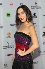 CARLA MEDINA at 2018 International Emmy Awards in New York 11/19/2018