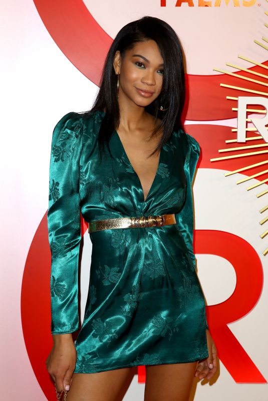 CHANEL IMAN at #RevolveAwards in Las Vegas 11/09/2018