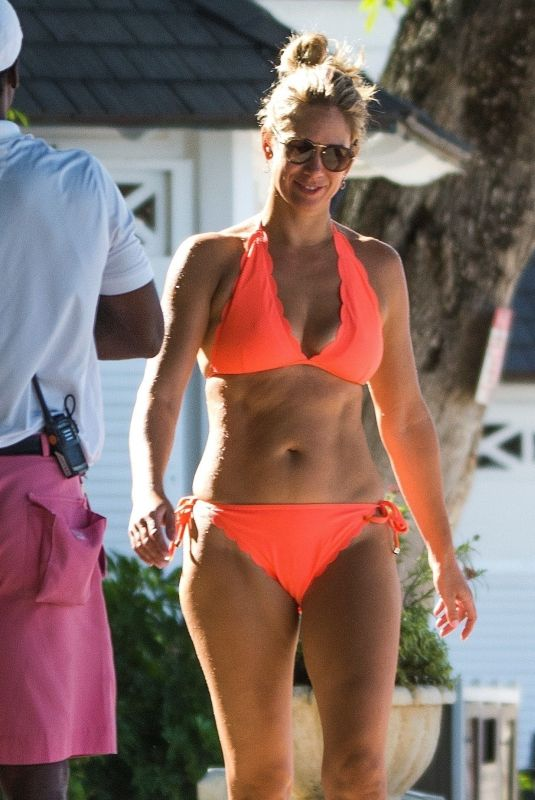 CHANELLE MCCOY in Bikini at Sandy Lane Hotel in Barbados 11/18/2018