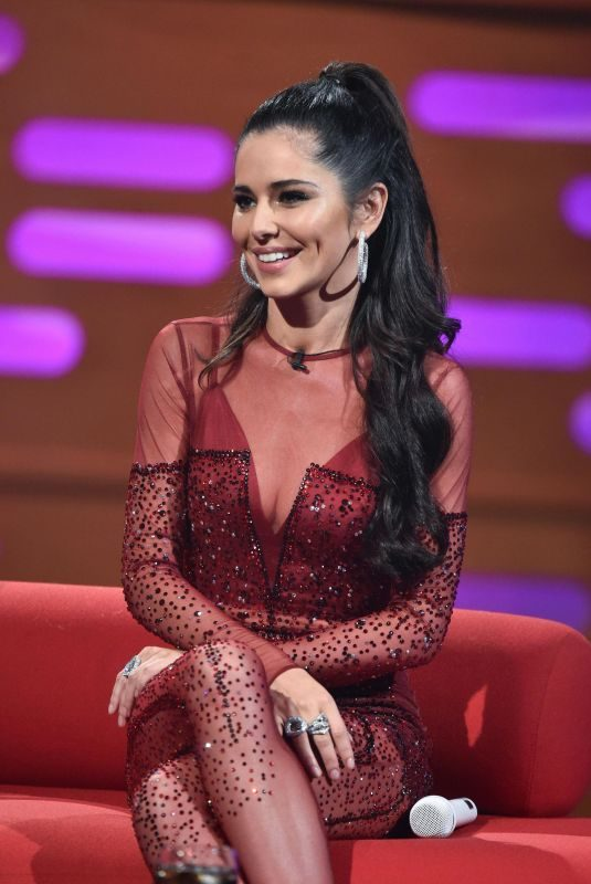 CHERYL COLE at Graham Norton Show in London 11/30/2018