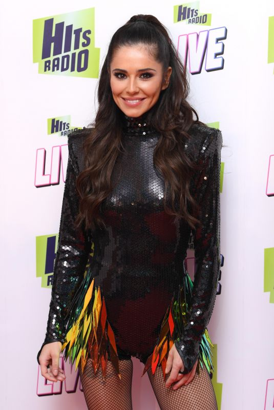 CHERYL COLE Performs at Hits Radio Live in Manchester 11/25/2018