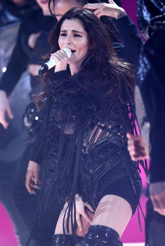 CHERYL COLE Performs at The X Factor in London 11/18/2018