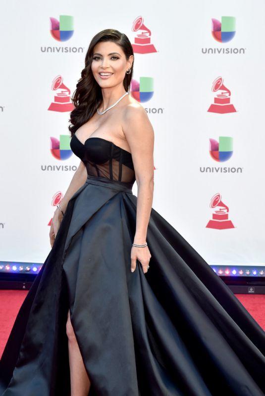 CHIQUINQUIRA DELGADO at 2018 Latin Grammy Awards in Las Vegas 11/15/2018