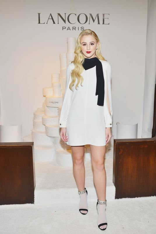 CHLOE LUKASIAK at Lancome x Vogue Holiday Event in West Hollywood 11/29/2018