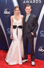 CHRISTINA MURPHY at 2018 CMA Awards in Nashville 11/14/2018
