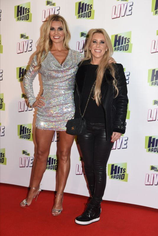 CHRISTINE MCGUINNES and RACHEL LUGO at Hits Radio Live in Manchester 11/25/2018