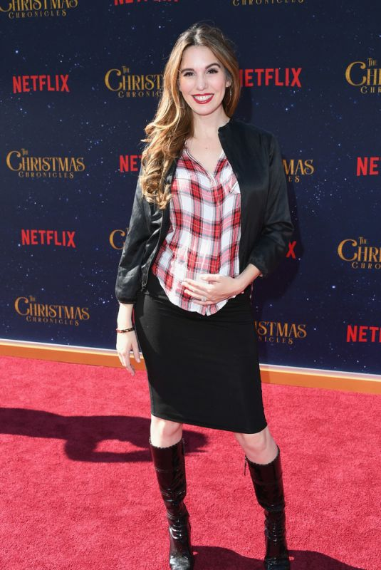 CHRISTY CARSLON ROMANO at The Christmas Chronicles Premiere in Los Angeles 11/18/2018