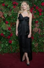 CLARA PAGET at Evening Standard Theatre Awards 2018 in London 11/18/2018