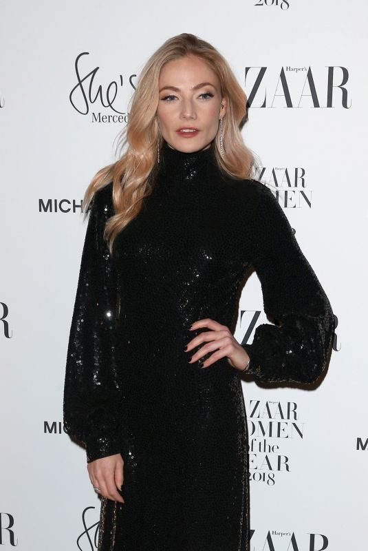 CLARA PAGET at Harper's Bazaar Women of the Year Awards in London 10/30/2018