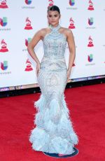 CLARISSA MOLINA at 2018 Latin Grammy Awards in Las Vegas 11/15/2018