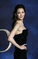 CLAUDIA KIM at Fantastic Beasts: The Crimes of Grindelwald Premiere in London 11/13/2018