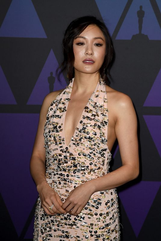 CONSTANCE WU at Governors Awards in Hollywood 11/18/2018