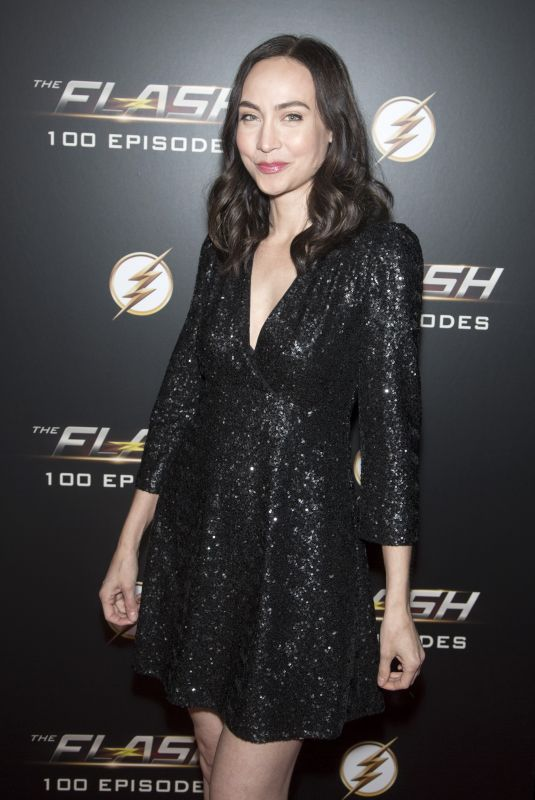 COURTNEY FORD at The Flash 100th Episode Celebration in Los Angeles 11/19/2018