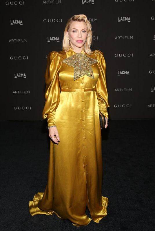 COURTNEY LOVE at Lacma: Art and Film Gala in Los Angeles 11/03/2018