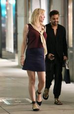 COURTNEY LOVE Leaves Gucci Store in Beverly Hills 11/06/2018