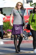 COURTNEY LOVE Out in Melrose Place in West Hollywood 11/08/2018