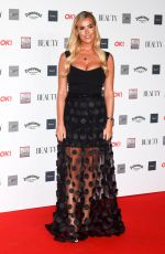 COURTNEY MEADOWS at Beauty Awards 2018 in London 11/26/2018