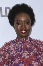 DANAI GURIRA at An Evening in China with Wildaid in Beverly Hills 11/10/2018