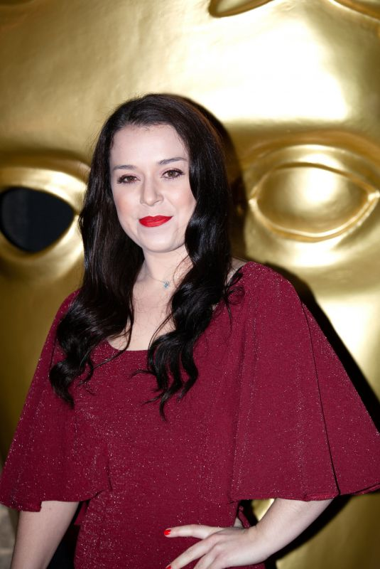 DANI HARMER at British Academy Children