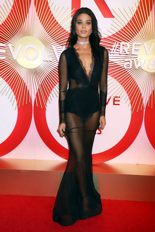 DANIELA BRAGA at #RevolveAwards in Las Vegas 11/09/2018