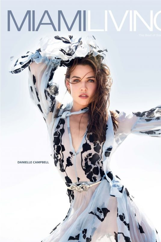 DANIELLE CAMPBELL in Miami Living Magazine, December 2018