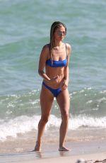 DANIELLE KNUDSON in Bikini at a Beach in Miami 11/09/2018