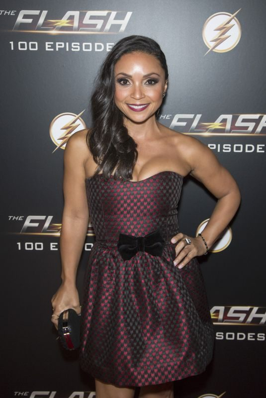 DANIELLE NICOLET at The Flash 100th Episode Celebration in Los Angeles 11/19/2018