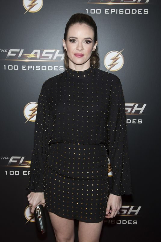 DANIELLE PANABAKER at The Flash 100th Episode Celebration in Los Angeles 11/19/2018