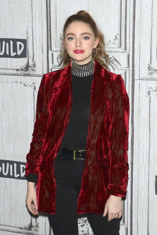 DANIELLE ROSE RUSSELL at Build Series in New York 11/19/2018