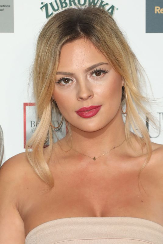 DANIELLE SELLERS at Beauty Awards 2018 in London 11/26/2018