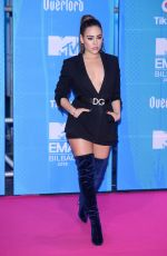DANNA PAOLA at MTV European Music Awards 2018 in Bilbao 11/04/2018